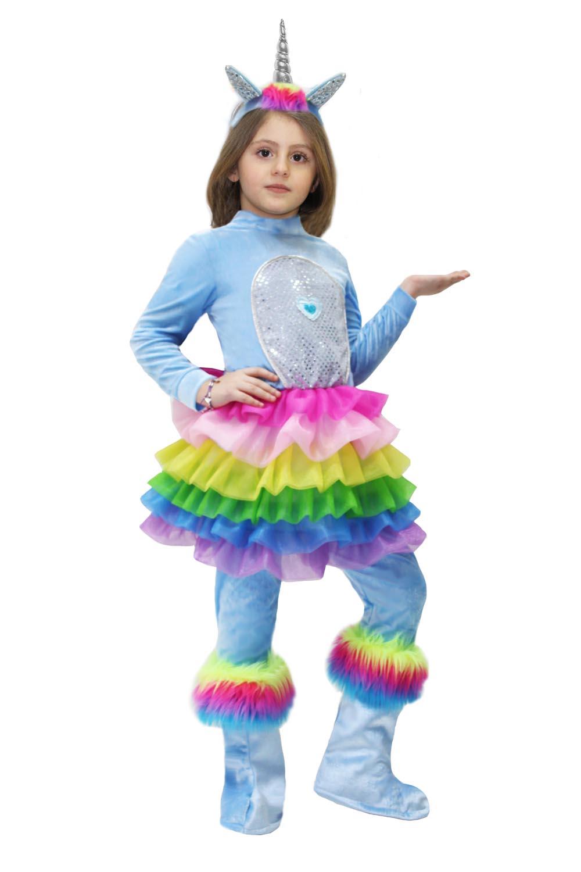 scarpe di separazione Il meglio del 2019 Liquidazione del 60% Costume da Piccola unicorno arcobaleno