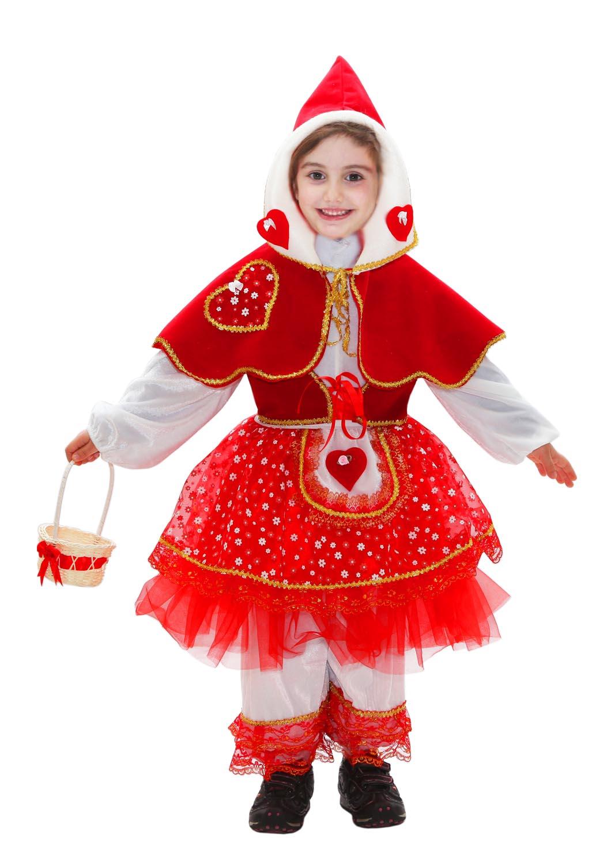 Costume da cappuccetto rosso neonata baby