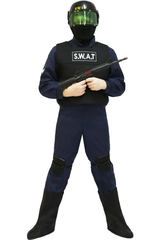 outlet in vendita vendita calda genuina ottima qualità Costume da Swat con accessori